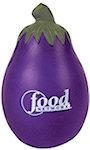 Eggplant Stress Balls
